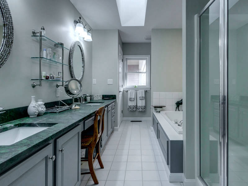 Cabinetry by SM Hall - NH Custom Bathroom Remodeling